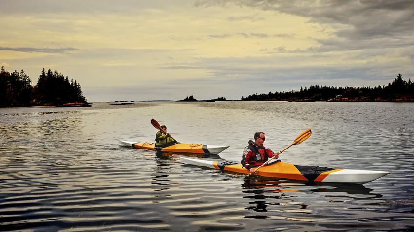 kayaking staunton river in southside