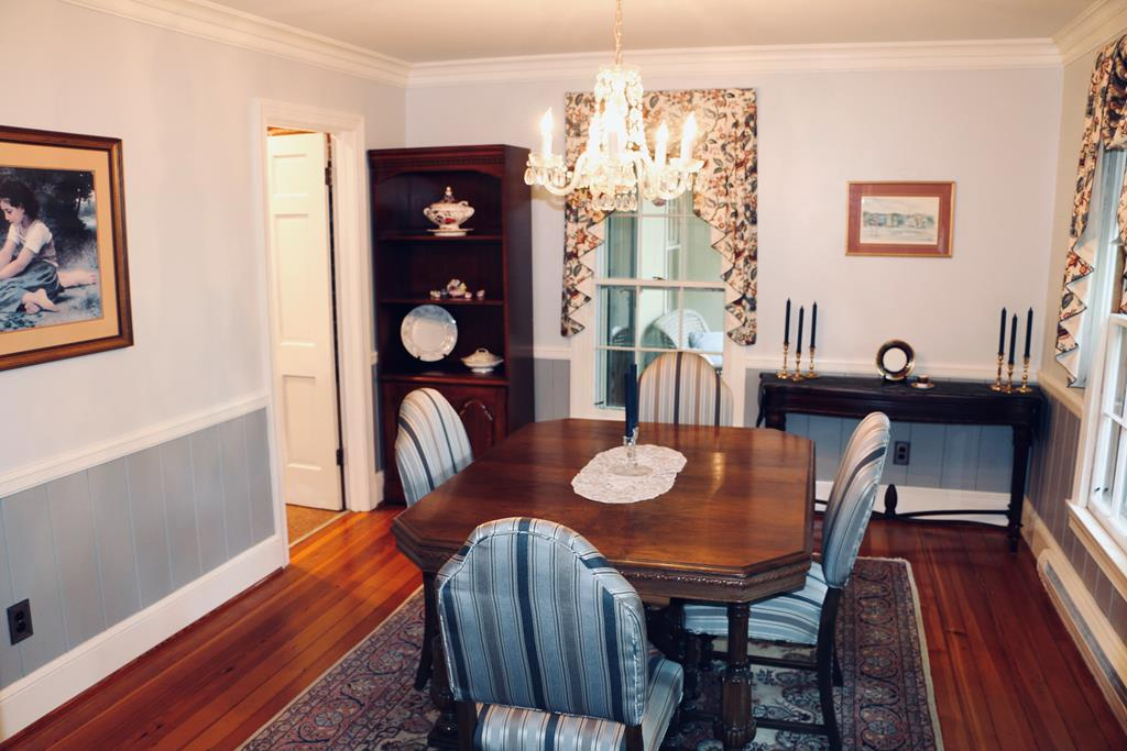formal dining room of 2810 halifax rd, south boston va