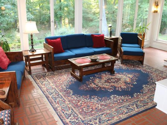 beautiful sunroom at 2810 halifax rd, south boston va