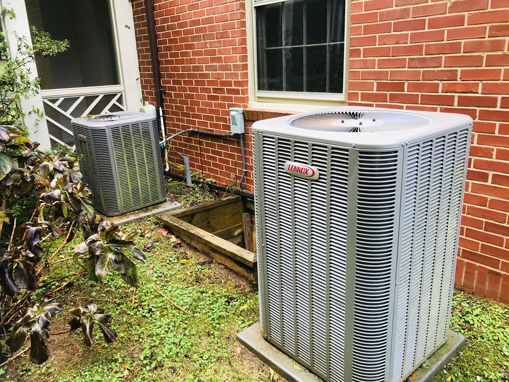 updated HVAC systems