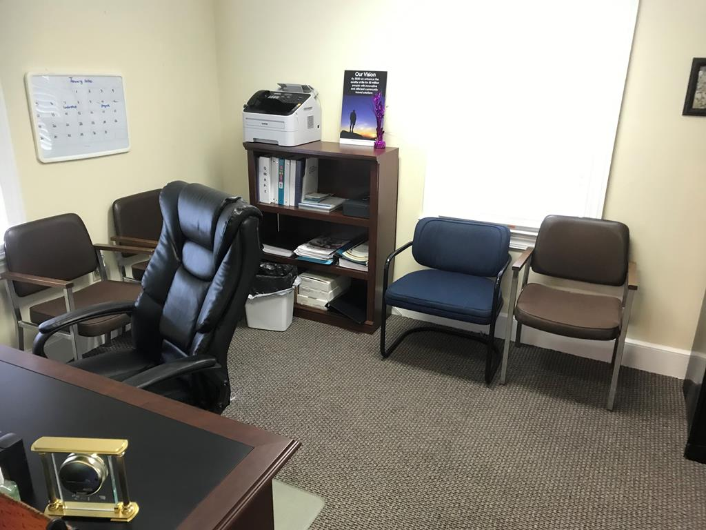 private office in a south boston office building